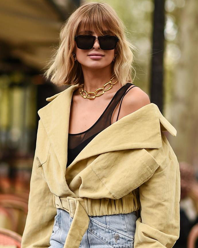 "***Out: Chunky Gold Chains*** <br><br> While, yes, the [Chunky Gold Chain](https://www.elle.com.au/fashion/chunky-chain-jewellery-24388|target=""_blank"") is still a fan favourite, it might be time to switch things up. If you're not ready to let go of yours just yet, then don't. Keep it on the back burner and break it out from time to time—but not *all* the time. Switch things up and let your neck sport something else for a change."
