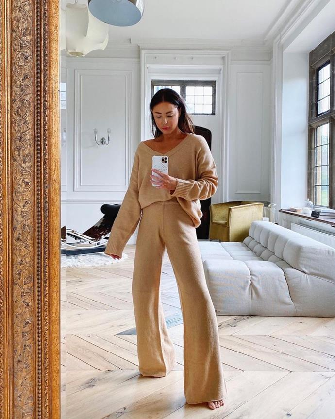"***Out: Matching Loungewear*** <br><br> As we previously mentioned, it's time to retire our matching loungewear to the confines of our homes and opt for more luxurious iterations instead. And, yes, [matching knitwear](https://www.elle.com.au/fashion/matching-knit-set-23306|target=""_blank"") is undeniably comfortable—and occasionally chic—but as they say, all good things must come to an end."