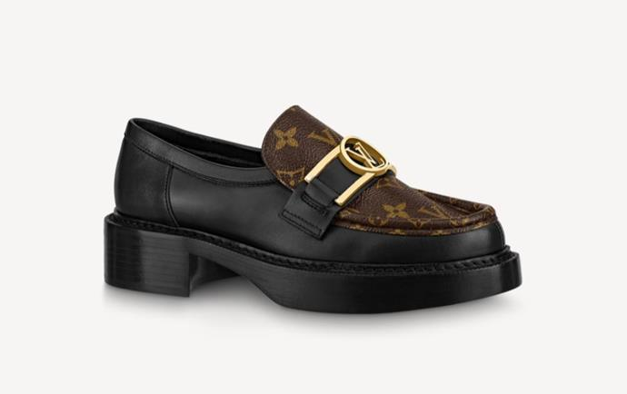 "Academy Loafer, $1,820 by [Louis Vuitton](https://au.louisvuitton.com/eng-au/products/academy-loafer-nvprod2100064v#1A7TXM|target=""_blank""