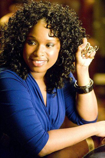 Jennifer Hudson as Louise from St. Louis in the first *Sex and the City* movie.