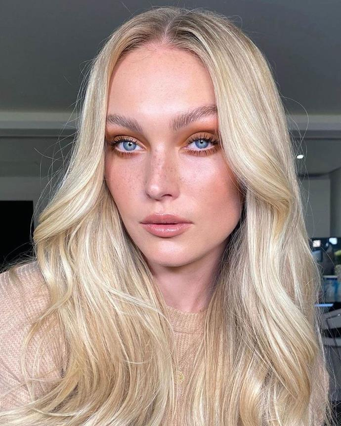 """**CREAMY BLONDE**<br><br>  **Renya Xydis, Creative Director and Founder of [Valonz](https://www.valonz.com.au/
