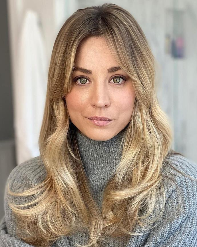 """**BLONDE '70S FRINGE**<br><br>  **Vincent Nobile, Colour Director and Co-Owner at [Headcase Hair](https://headcasehair.com.au/