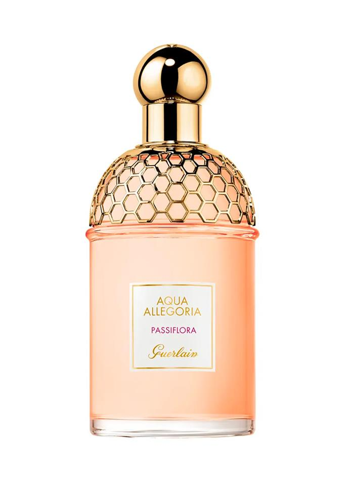 "**Aqua Allegoria Passiflora by Guerlain, EDT, $108 at [Sephora](https://www.sephora.com.au/products/guerlain-aqua-allegoria-passiflora-eau-de-toilette/v/default|target=""_blank""|rel=""nofollow"")** <br><br>"