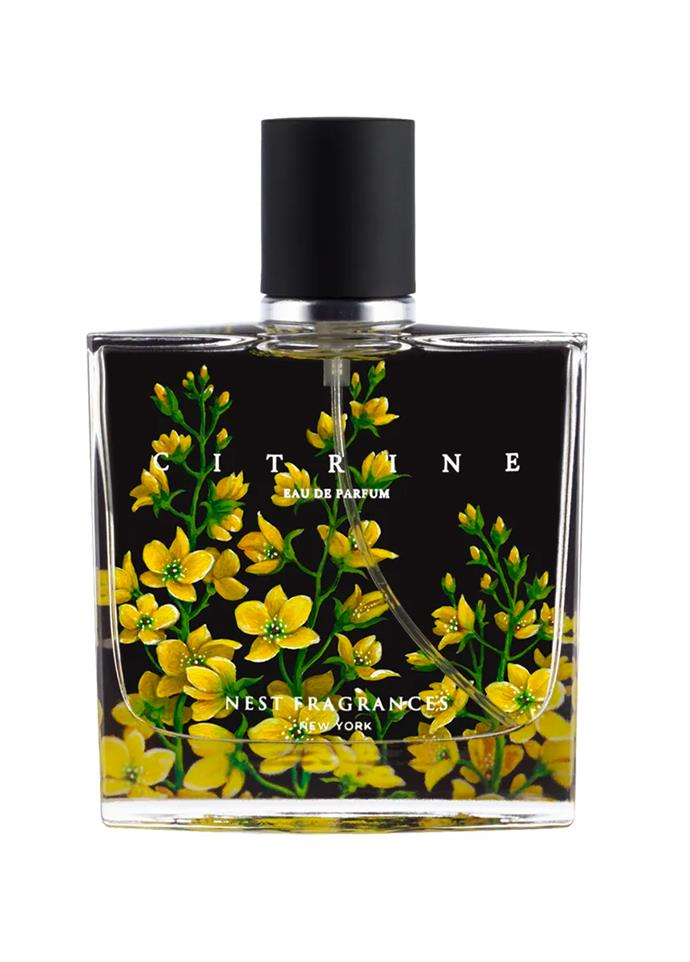 "**Citrine by Nest, EDP, $113 at [Mecca](https://www.sephora.com.au/products/nest-citrine-eau-de-parfum/v/50ml|target=""_blank""|rel=""nofollow"")** <br><br>"