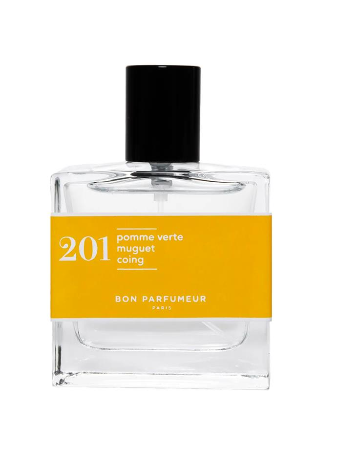 """**201 Fruity by Bon Parfumer, EDP, $70 at [Sephora](https://www.sephora.com.au/products/bon-parfumeur-eau-de-parfum-201-fruity-green-apple-lily-of-the-valley-and-quince/v/30ml