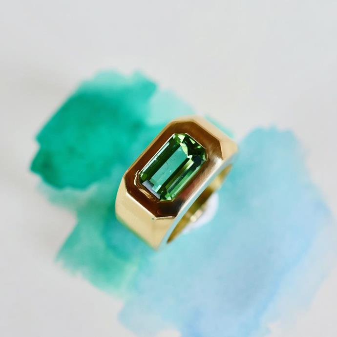 "***The Gypsy Setting***<br><br>  ""I believe now more than ever clients are searching for something different to the traditional engagement ring. The clients brief is often for a piece, which will stand out from the crowd,"" says [Minka Jewels](https://minkajewels.com/