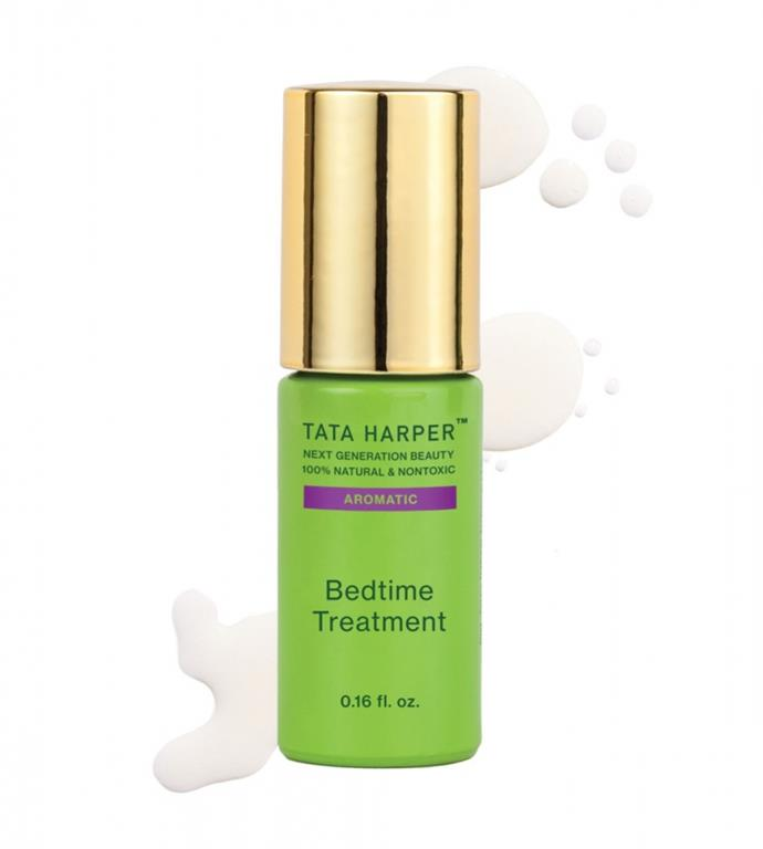 "**Aromatic Bedtime Treatment by Tata Harper, $86.79 from [Tata Harper](https://global.tataharperskincare.com/aromatic-bedtime-treatment|target=""_blank""
