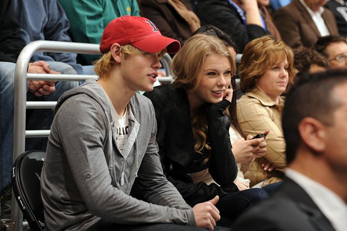 **Chord Overstreet (2011)** <br><br> Taylor and Chord reportedly only went on one date, but there are pictures from the event so naturally, he makes the list.
