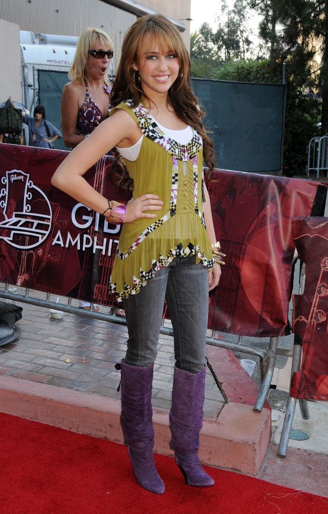 Miley Cyrus, 2008