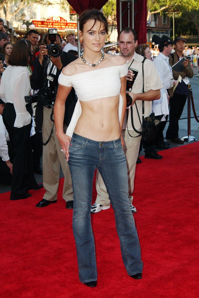Keira Knightley, 2003