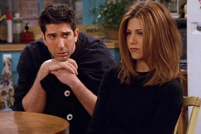 """**Ross and Rachel from** ***Friends***<br><br>  Easily one of the most iconic TV breakups of all time (if not *the* most iconic), Ross and [Rachel's](https://www.elle.com.au/news/the-best-of-rachel-green-from-friends-fashion-9862