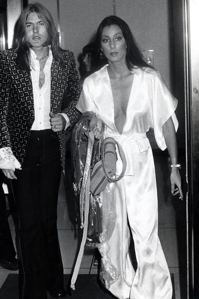 **Jumpsuits** <br><br> Who doesn't love an instant outfit? Especially one that makes it easy to cut loose on the dance floor, Studio 54-style. These days the all-in-one option is still super popular, especially on the red carpet.
