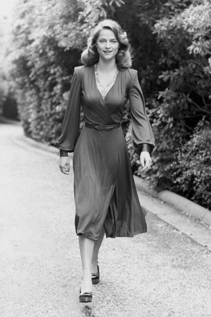 **Wrap dresses** <br><br> Long associated with Diane von Furstenberg, the designer debuted her first wrap dress in the early '70s, and the figure-flattering silhouette continues to cultivate a following among women of all ages.