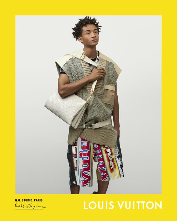 Jaden Smith for Louis Vuitton spring/summer 2021.