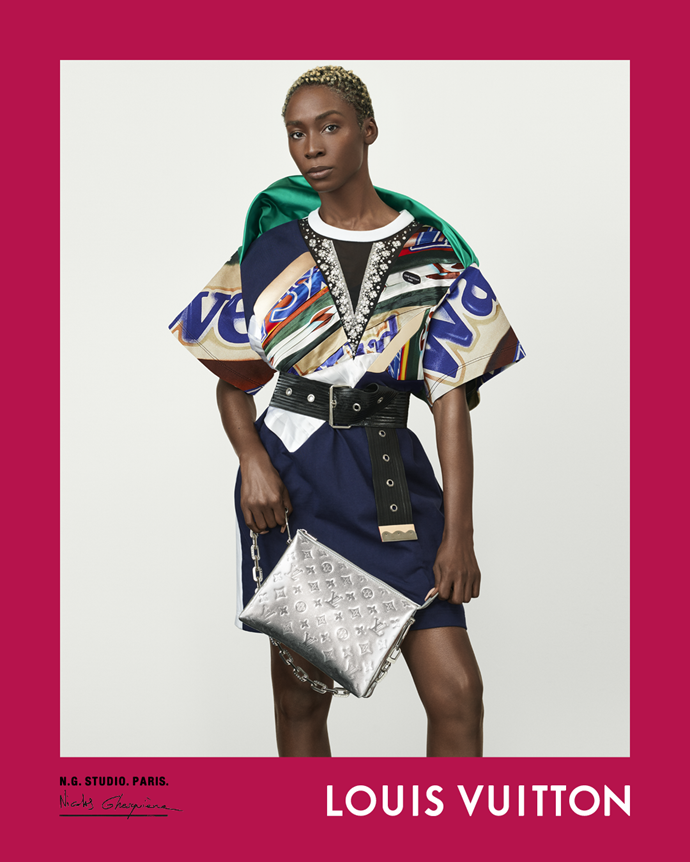 Angelica Ross for Louis Vuitton spring/summer 2021.
