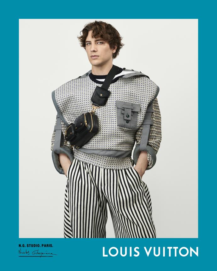 Cody Fern for Louis Vuitton spring/summer 2021.