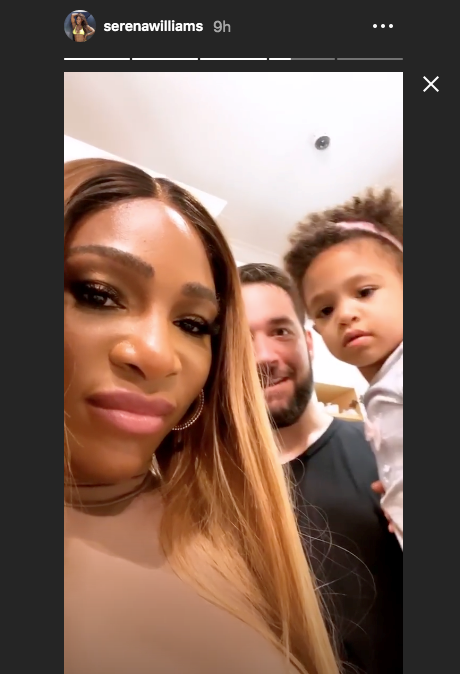 """**When he backed her baking endeavours even though the outcome was... not great**<br><br>  As the Instagram Story goes, Williams decided to try her hand at baking ahead of Thanksgiving 2019. Taking to her page to post the entire process, Williams told her followers that she let the cookies raise """"for about 20 hours... and they raised"""". Unfortunately, a day later, the tennis great shared a clip of herself checking in on said baked goods, only to discover they'd become rock hard.<br><br>  Naturally, her number one fan was there to lift her disappointed spirits. """"That's natural, that's normal,"""" Ohanian said in the background, while holding their daughter Olympia and offering her up to help resolve the cookie debacle. *This* is the kind of unwavering support we need in our lives.<br><br>  *Image: [@serenawilliams](https://www.instagram.com/serenawilliams/ target=""""_blank"""" rel=""""nofollow"""")*"""