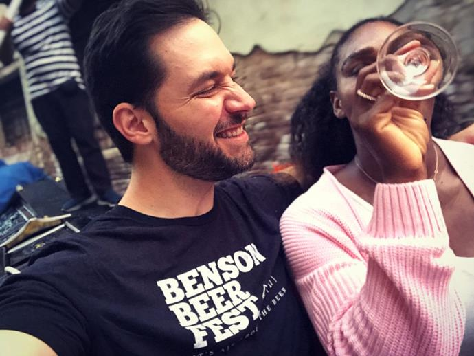 """**When he flew her to Italy to satisfy her pasta craving**<br><br>  Shall we compare him to a summer's day? No, because Alexis Ohanian is so much better. Exhibit A: Ohanian flying Williams to Italy because she was craving pasta. TO ITALY. """"She had a craving, so I delivered,"""" he wrote in an essay for *[Glamour](https://www.glamour.com/story/alexis-ohanian-serena-williams-successful-marriage target=""""_blank"""" rel=""""nofollow"""")* in 2018. Must be nice.<br><br>  *Image: [@alexisohanian](https://www.instagram.com/p/BlgkRh0Bb1I/ target=""""_blank"""" rel=""""nofollow"""")*"""