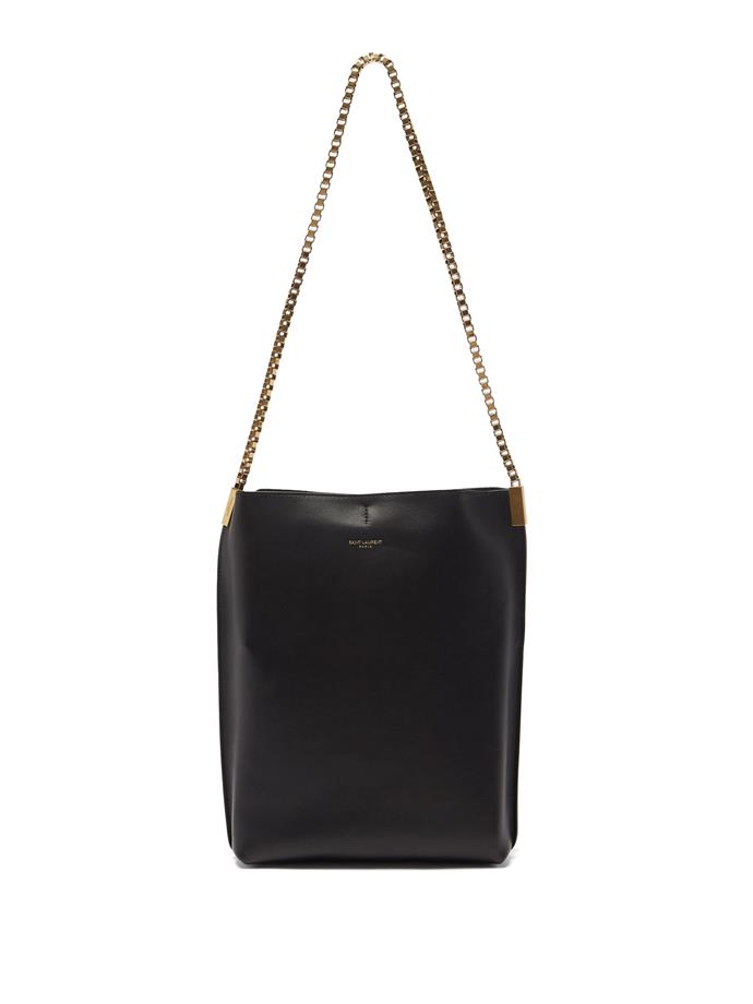 """**'Suzanne' Small Chain-Strap Leather Shoulder Bag by Saint Laurent, $3,065 at [MATCHESFASHION.COM](https://www.matchesfashion.com/au/products/Saint-Laurent-Suzanne-small-chain-strap-leather-shoulder-bag-1397715