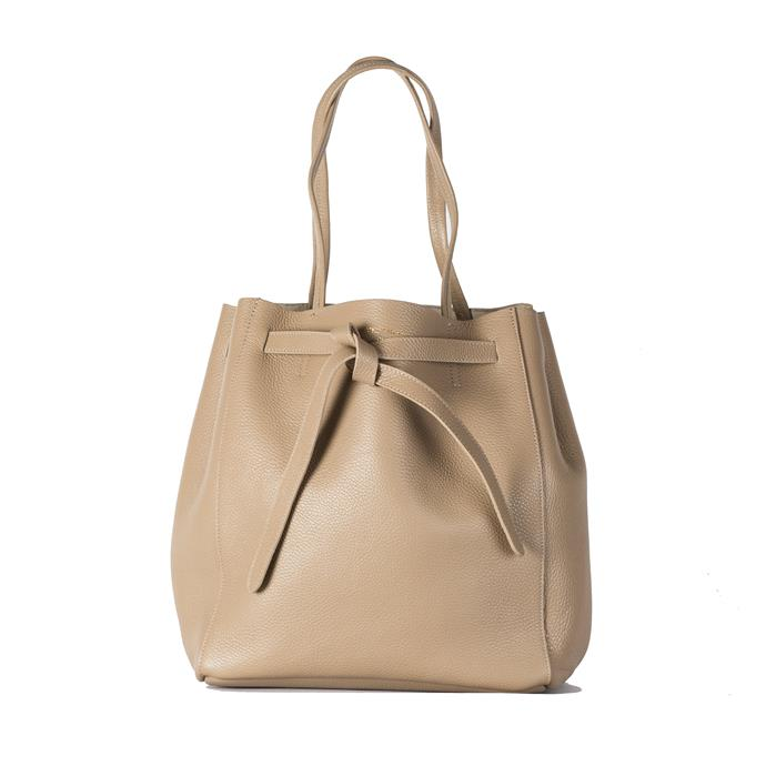 """**'Phoebe' in beige by Vestirsi, $285 at [Vestirsi](https://shopvestirsi.com/collections/vestirsi-collection/products/phoebe-beige