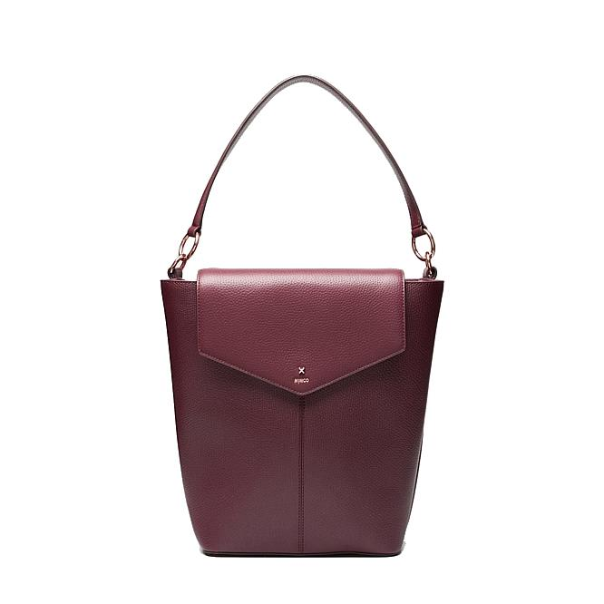 """**'D-Vine' Bucket Bag in Bordeaux, also available in black, by Mimco, $219 (was $450) at [Mimco](https://www.mimco.com.au/Product/60255285-6012/?colour=Bordeaux&size=No-Size