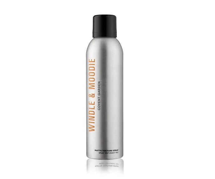 """**Matte Texture Spray by Windle & Moodie, $47 at [Adore Beauty](https://go.skimresources.com?id=105419X1569491&xs=1&url=https%3A%2F%2Fwww.adorebeauty.com.au%2Fwindle-moodie%2Fwindle-moodie-matte-texture-spray.html