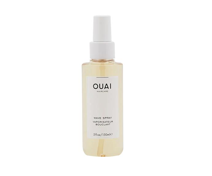"""**Wave Spray by Ouai, $40 at [Sephora](https://go.skimresources.com?id=105419X1569491&xs=1&url=https%3A%2F%2Fwww.sephora.com.au%2Fproducts%2Fouai-wave-spray%2Fv%2F50ml