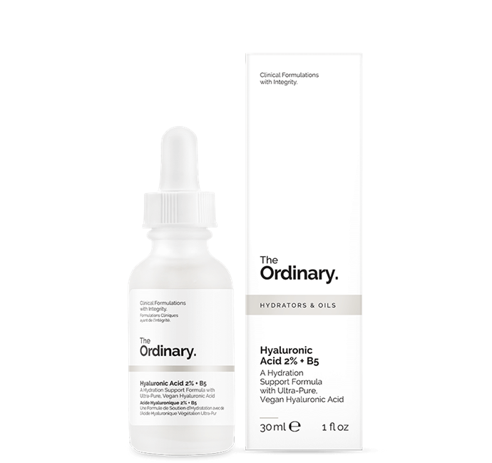"""<br> **The Ordinary Hyaluronic Acid 2% + B5** <br> <br> Hyaluronic acid has been thrown into a bit of hot water recently with respected beauty journalists pointing out the [negative effects](https://www.harpersbazaar.com/beauty/skin-care/a31116680/are-you-misusing-hyaluronic-acid/
