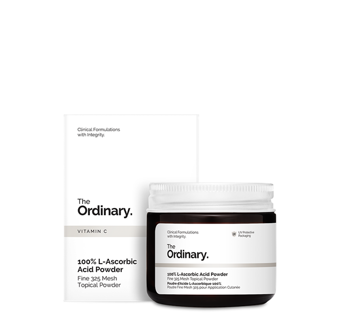 """<br> **The Ordinary 100% L-Ascorbic Acid Powder** <br> <br> Skip the expensive and unstable Vitamin C serums and cut out the filler with this little powerhouse pot. The ultrafine powder inside is pure L-Ascorbic Acid Powder—a form of Vitamin C—and can be added to hydrating toners, essences, serums, moisturisers, oils, or even just plain old water.  <br> <br> Vitamin C is a fantastic all-rounder: as an antioxidant it helps protect against free radical damage, it boosts collagen production, can help fade hyperpigmentation and can minimise redness and inflammation. Basically, sprinkle a tiny amount in your palm and mix with your medium of choice for brightness and bounce. Just be sure to avoid using any Niacinamide or EUK 134 containing products and any retinols or sunscreens, to avoid bad reactions and diluting both products efficacy.  <br> <br> *The Ordinary 100% L-Ascorbic Acid Powder, $9.80 from [Adore Beauty](https://go.skimresources.com?id=105419X1569491&xs=1&url=https%3A%2F%2Fwww.adorebeauty.com.au%2Fthe-ordinary%2Fthe-ordinary-100-l-ascorbic-acid-powder.html