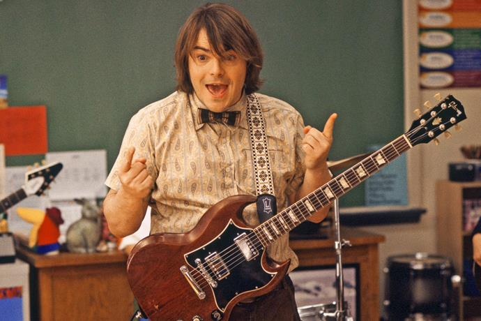 ***School of Rock*** **(01/03/2021)**<br><br>  Overly enthusiastic guitarist Dewey Finn (Jack Black) gets thrown out of his bar band and finds himself in desperate need of work. Posing as a substitute music teacher at an elite private elementary school, he exposes his students to the hard rock gods he idolises and emulates—much to the consternation of the uptight principal (Joan Cusack). As he gets his privileged and precocious charges in touch with their inner rock 'n' roll animals, he imagines redemption at a local Battle of the Bands.