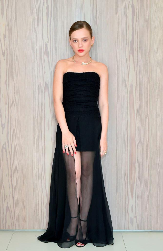 Shira Haas wearing Chanel.