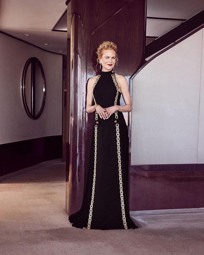Nicole Kidman in Louis Vuitton.