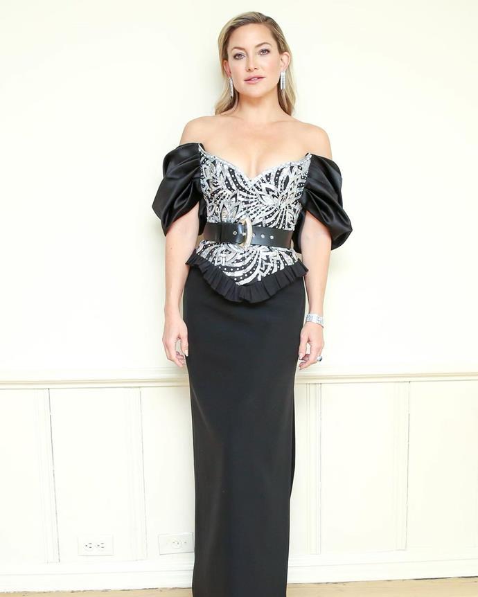 Kate Hudson in Louis Vuitton.