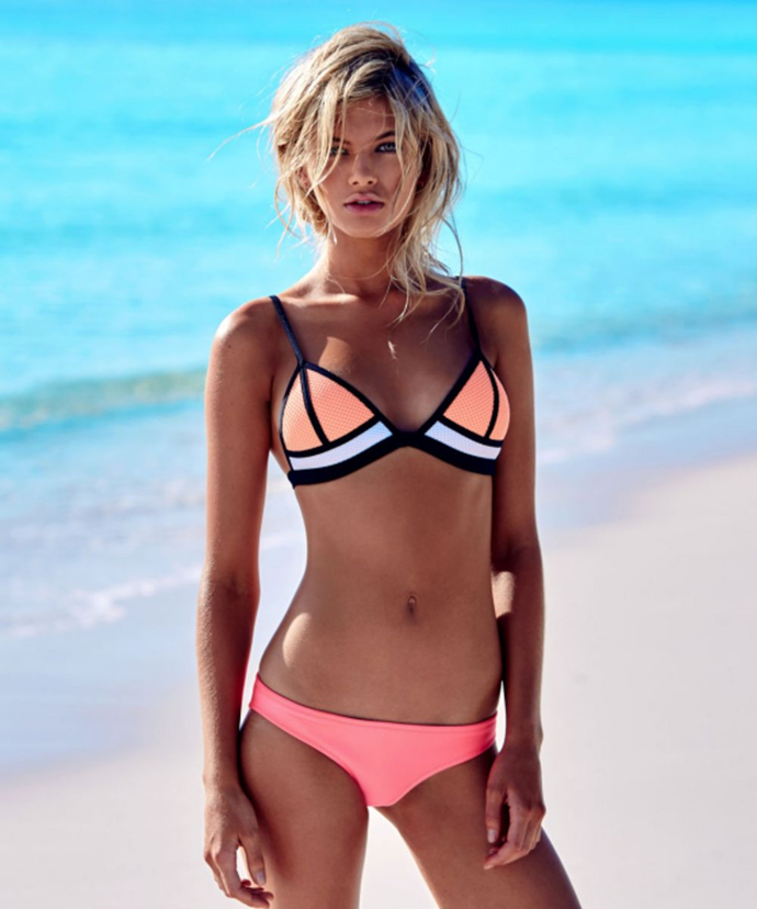 **Triangl Bikinis**<br><br>  Peaking in popularity around the mid-2010s, there wasn't a single beach-loving gal who didn't desire one of these cult, colour-blocked bikinis. Besides just being aesthetically fresh and fun, the signature Triangl bikinis were made from neoprene, which stood in stark contrast against the sea of usual plains and prints that were everywhere at the time.
