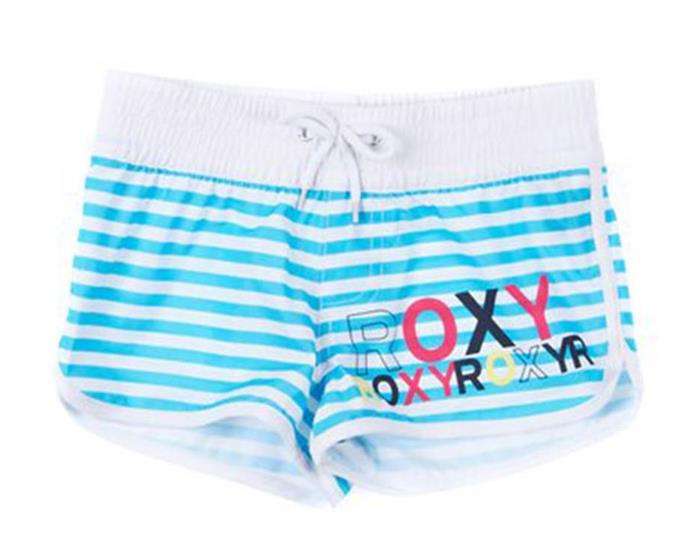 **Roxy Board Shorts**<br><br>  Whether for school swimming lessons or to rock at the beach, we were all about that board short life, with Roxy typically being our brand of choice. While colourful and practical, their ability to grip to your body after a dip in the ocean was always a downside!