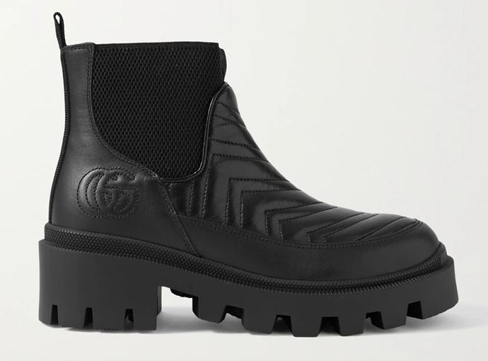 Gucci Frances Boots, $1,265