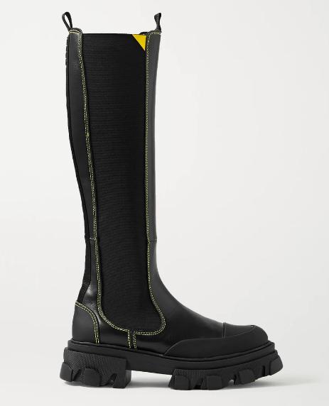 Ganni Knee Boots, $753.65