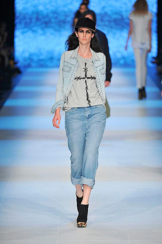 """**Ksubi Denim**<br><br>  In the 2000s, streetwear label Ksubi (formerly known as Tsubi, and pictured here in 2012) was probably as cool as it got when it came to edgy, Australian fashion, with their denim pieces winning the hearts of fashion editors and celebrities alike. Today, their cult pieces, like their [Gigi and Bella Hadid-approved](https://www.instyle.com/fashion/bella-hadid-khloe-kardashian-ksubi-denim