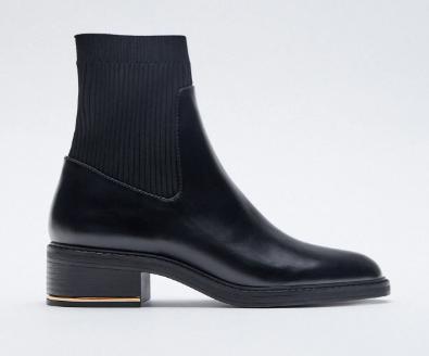 Zara Sock Boots, $69.95