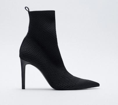 Zara Fabric Boots, $99