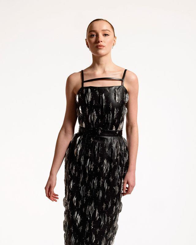 Phoebe Dynevor in Louis Vuitton.