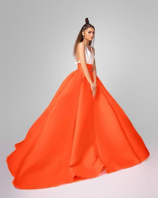 Zendaya in Dior Haute Couture.