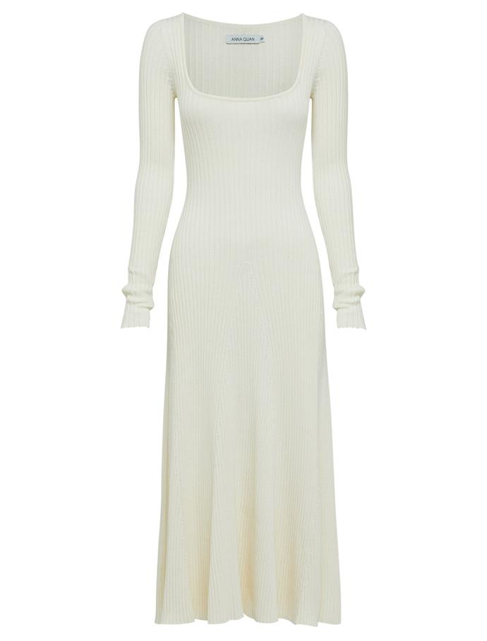 "Vesna Dress by Anna Quan, $380 at [The Undone](https://fave.co/3cs1tu2|target=""_blank""|rel=""nofollow"")."