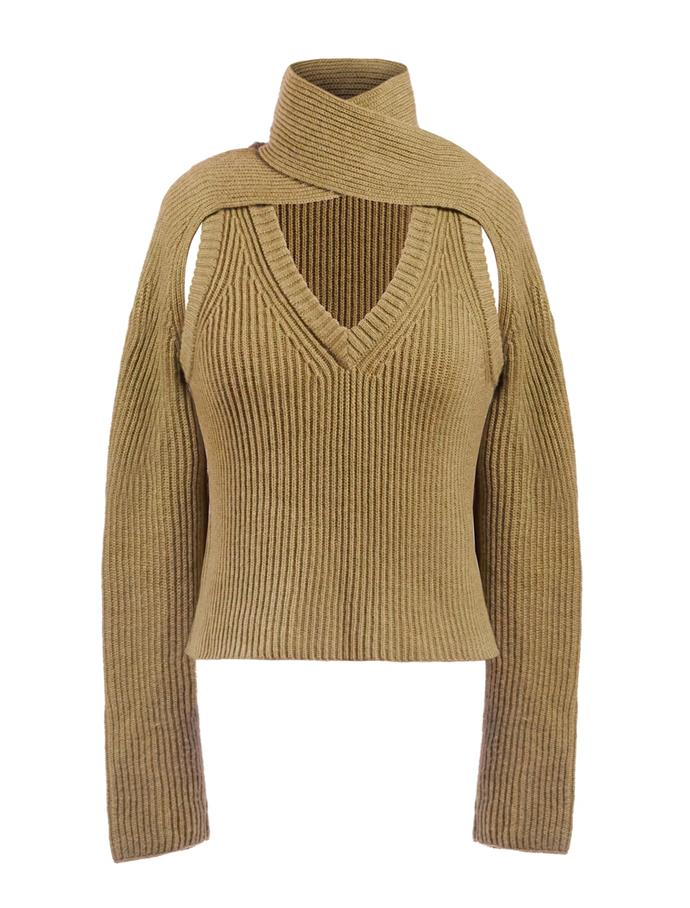 """Loop Chunky Sweater by Wynn Hamlyn, $525 at [The Undone](https://fave.co/38uVaou