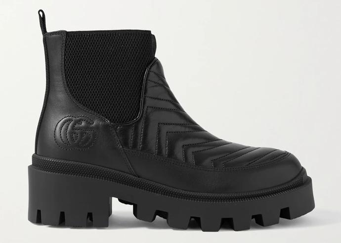 Gucci Frances Chelsea Boots, $1,265