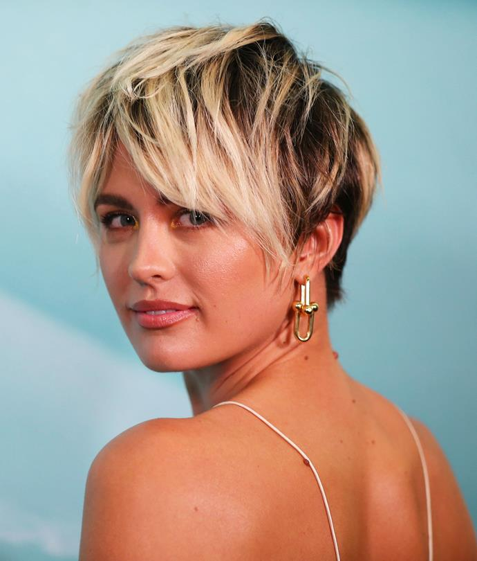 **THE PIXIE LOB**<br><br>  If you're not afraid to switch up your style, a pixie cut, particularly of the shaggy 'lob' variety, will overhaul your look without feeling bare. See celebrities such as Jesinta Franklin (pictured here), Jennifer Lawrence, Emilia Clarke and Halle Berry for all the inspiration you need to take the plunge.<br><br>  *Image: Getty*