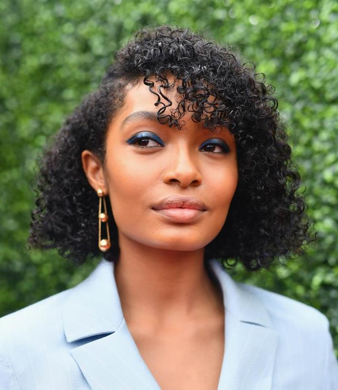 **THE CURLY BOB**<br><br>  Honestly, who decided once upon a time that girls with curls can't rock bobs without having to style them straight everyday? Natural curls and coils look great at bob-length, provided you use the right creams to control frizz. Putting a fringe in the front will add elevation while bringing shape to the face. If you're looking to go *au naturel* with a curly bob, make sure to ask your hairdresser to keep the baseline all one length to add some heaviness and reduce frizz.<br><br>  *Image: Getty*