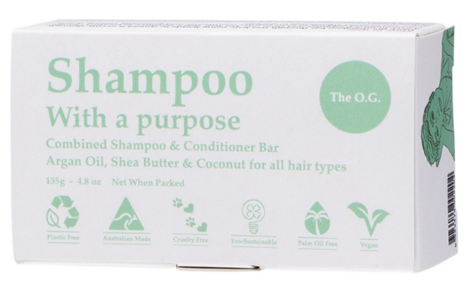 Shampoo With A Purpose, $15