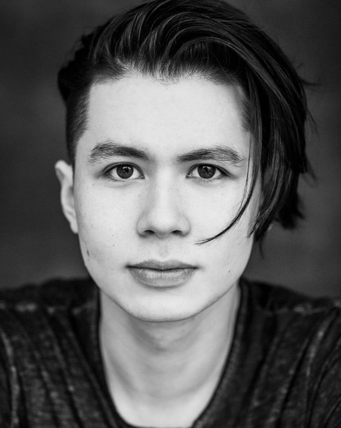"""**Mason Temple as Hunter Chen**<br><br>  Canadian-Taiwanese actor Mason Temple plays Hunter Chen, a band member who becomes one of Ginny's love interests. *Ginny & Georgia* marks the 25-year-old breakout TV role, with previous acting credit including the TV series *Six* and *iZombie*.<br><br>  *Image: [@theemptylife](https://www.instagram.com/theemptylife/