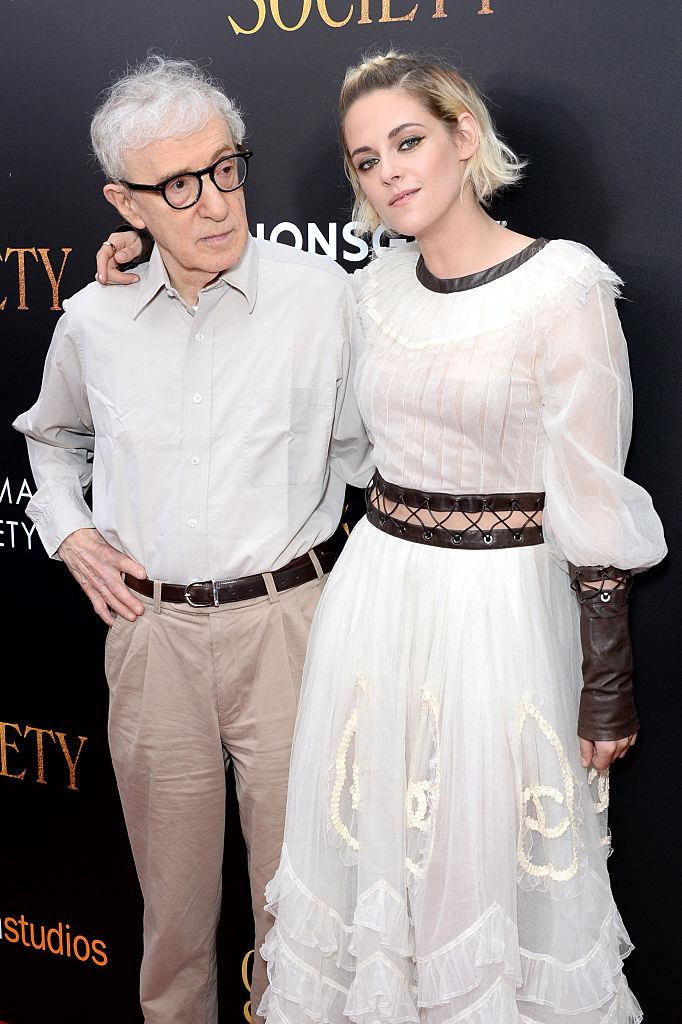 """**Kristen Stewart**<br><br>  Starring in Allen's film *Café Society* alongside Lively, in 2016 Kristen Stewart shared her opinion on the director in relation to the accusations of sexual abuse that have stained his reputation for over two decades.<br><br>  Per *[Variety](https://variety.com/2016/film/news/kristen-stewart-cannes-ilm-festival-twilight-1201769327/ target=""""_blank"""" rel=""""nofollow"""")*, the actress admitted that """"initially she had concerns about working with Allen"""", but ultimately came to the conclusion after speaking with her co-star Jesse Eisenberg, that she ultimately did not have a concrete opinion.<br><br>  """"I was like, 'What do you think? We don't know any of these people involved. I can personalise situations, which would be very wrong.' At the end of the day, Jesse and I talked about this,"""" she said.<br><br>   """"If we were persecuted for the amount of shit that's been said about us that's not true, our lives would be over. The experience of making the movie was so outside of that, it was fruitful for the two of us to go on with it."""""""